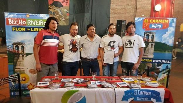 """""""BECHO"""" RIVEIRO EMBAJADOR CULTURAL DE EL CARMEN"""