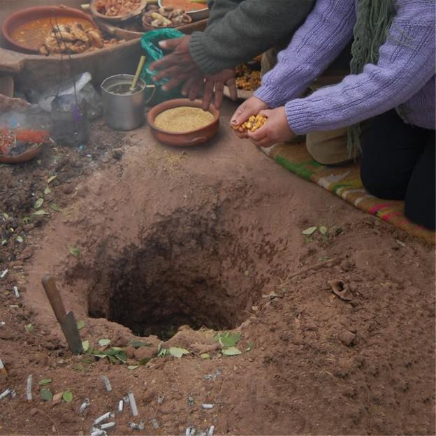 """OFRENDA A LA PACHAMAMA"" EN POSTA DE HORNILLOS 2"