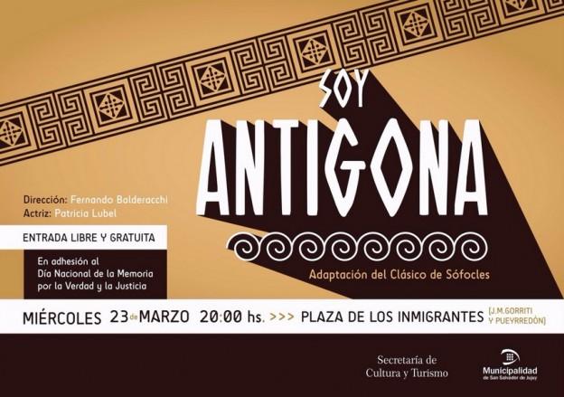 """Soy Antigona"""
