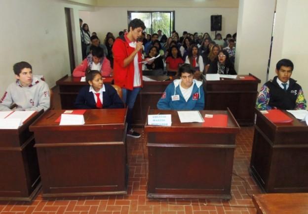 1-04.06.15 Ediles estudiantiles presentan proyectos