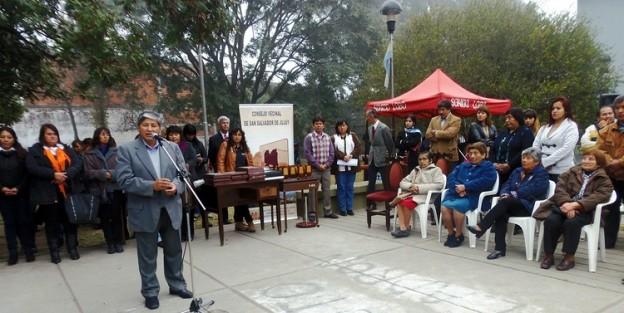 1-11.06.15 concejal José L. Sanchez habla en la entrega de distinción