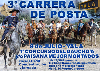 1-9 DE JULIO CARRERA DE POSTA MINI