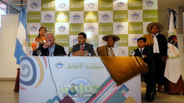 1-Conferencia de Prensa Conmemoración Dia Grande de Jujuy