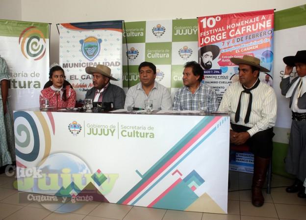 1-Conferencia de prensa Festival Homenaje a Cafrune