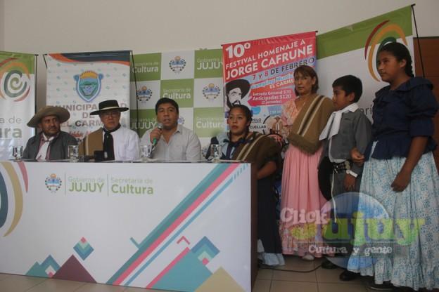 1-Conferencia de prensa Marcha Homenaje a Cafrune