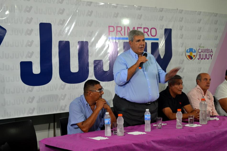 PRIMERO JUJUY SE PRONUNCIÓ A FAVOR DE MANTENER EL FRENTE CAMBIA JUJUY COMO EN 2015