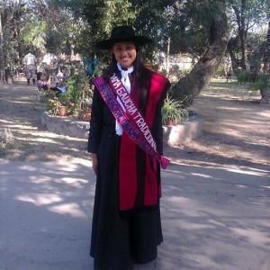 1-Dama Gaucha Tradicional Salteña