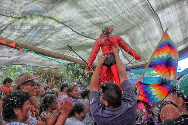 1-Desentierro del Carnaval en la Carpa de Maria Reynaga – 5