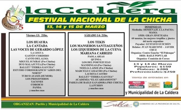 1-Festival Nacional de la Chicha 2015 – La Caldera