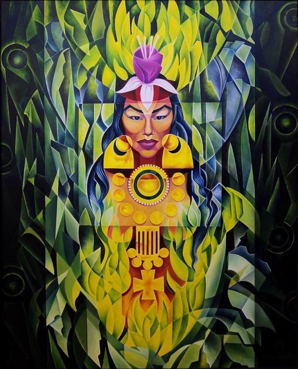 1-González Mur – Kuña gua ke' guiy – Mujer de la selva