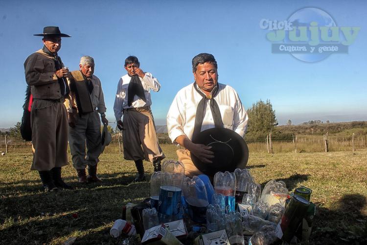 1-Homenaje a la Pachamama Agrupación Gaucha Gral San Martin de los Paños