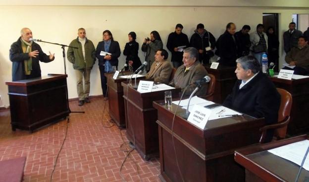 Periodistas y Comunicadores hicieron uso de la Banca Abierta Permanente instituida por el Concejo Deliberante