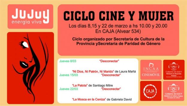 1-Placa Ciclo de Cine y la Mujer