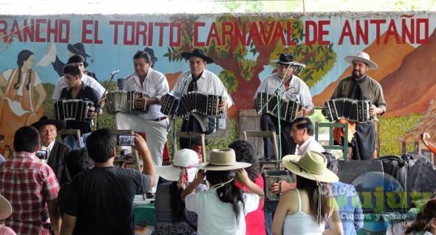 1-Rancho el Torito – Carnaval de Antaño – Encuentro de bandoneones