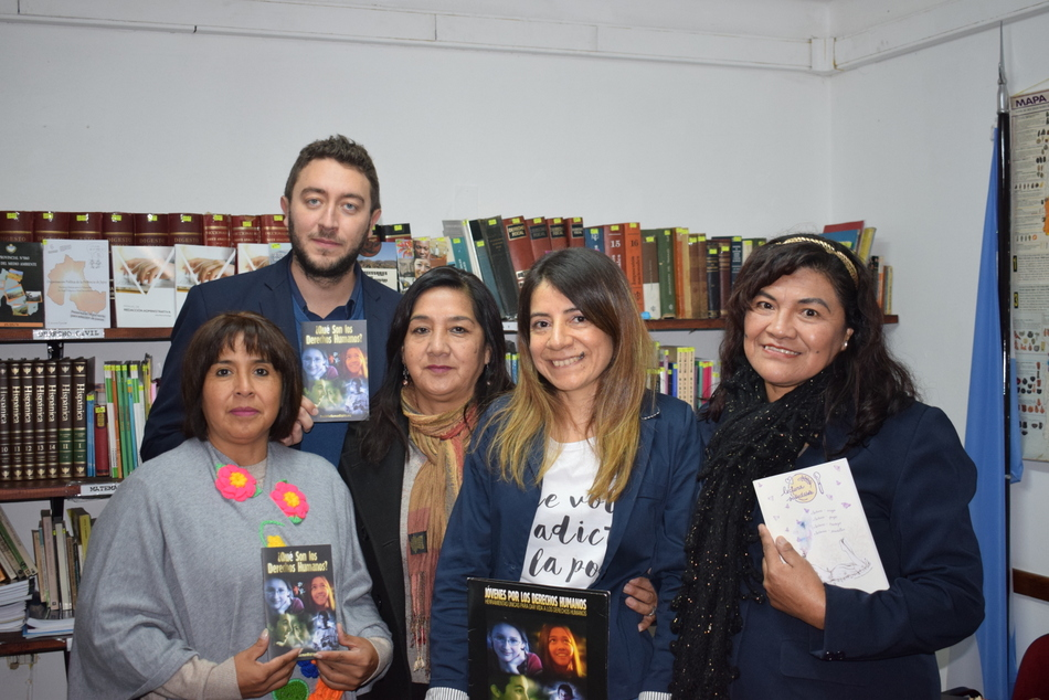 1-Visita Mabel Padilla - Derechos Humanos2