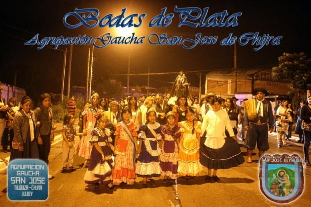 Bodas de Plata Agrupación Gaucha San Jose de Chijra