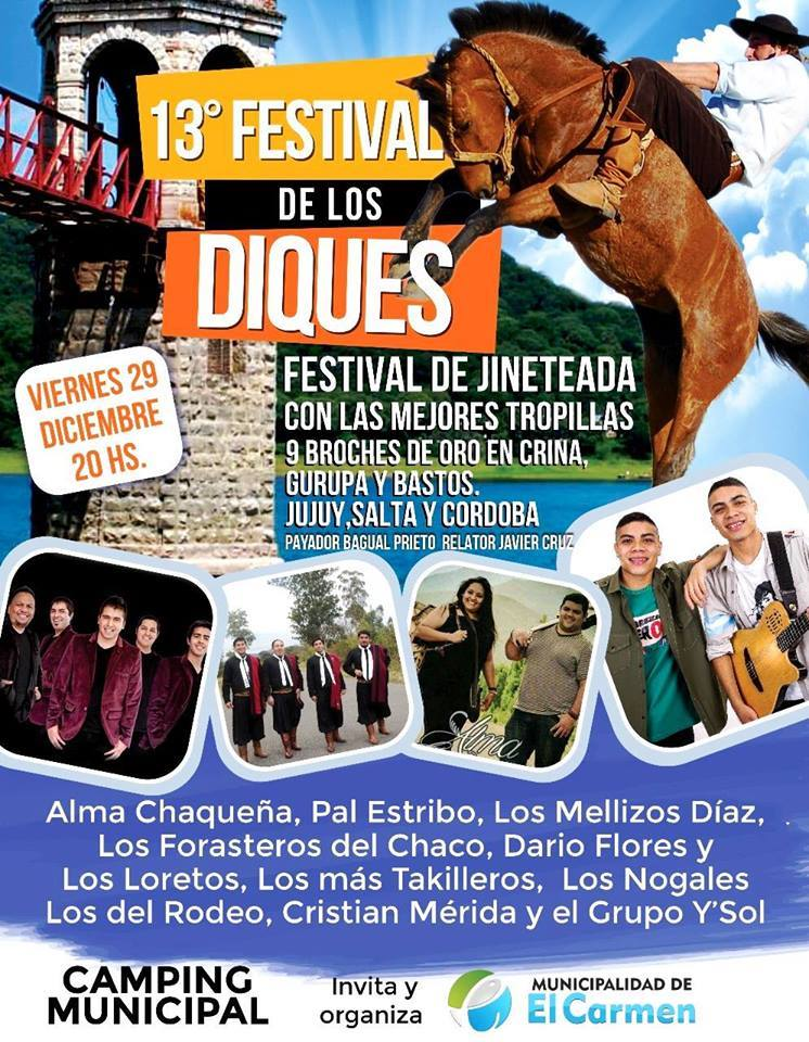 13° FESTIVAL PROVINCIAL DE LOS DIQUES
