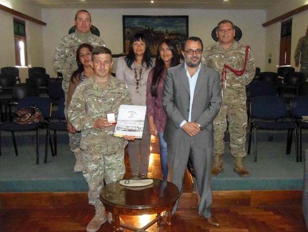 Ediles entregaron reconocimientos a integrantes del Regimiento de Infanteria de Montaña 20