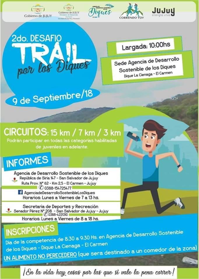 2° Desafio Trail por los Diques, El Carmen