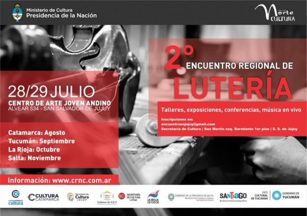 2º Encuentro Regional de Lutería JUJUY 2017