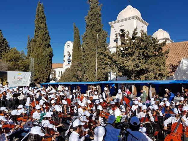 Exitoso cierre del Encuentro de Orquestas en Humahuaca