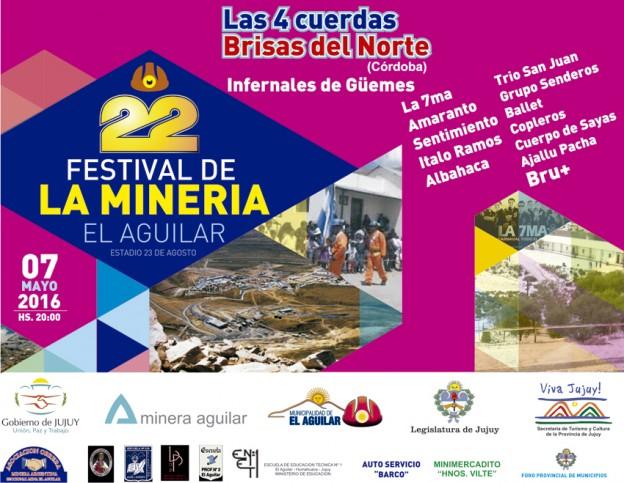 22 festival Mineria El Aguilar
