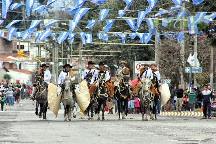 23 de Agosto en Jujuy  - Desfile Gaucho