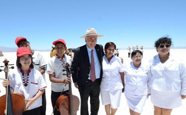 A TODA ORQUESTA EN SALINAS GRANDES