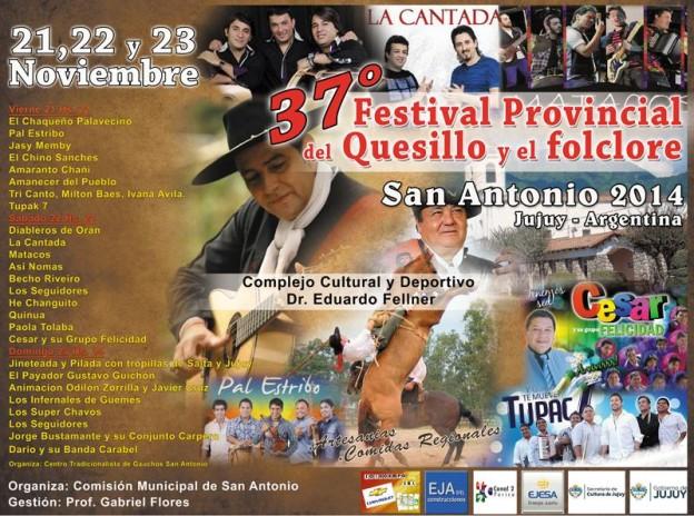 37 Festival Provincial del Quesillo