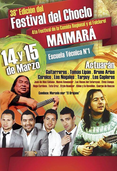 38  FESTIVAL DEL CHOCLO 2015