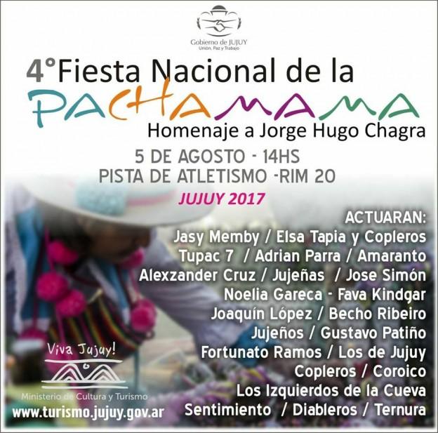 4TO FESTIVAL NACIONAL DE LA PACHAMAMA