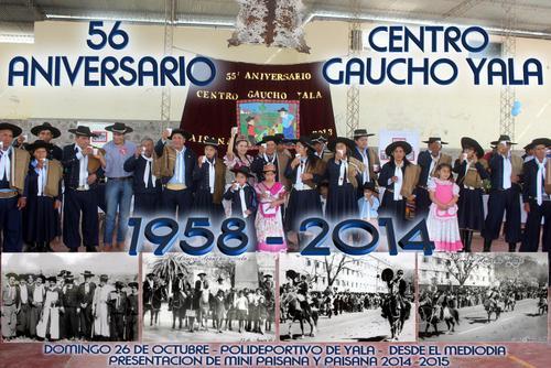 56 Aniversario Centro Gaucho Yala