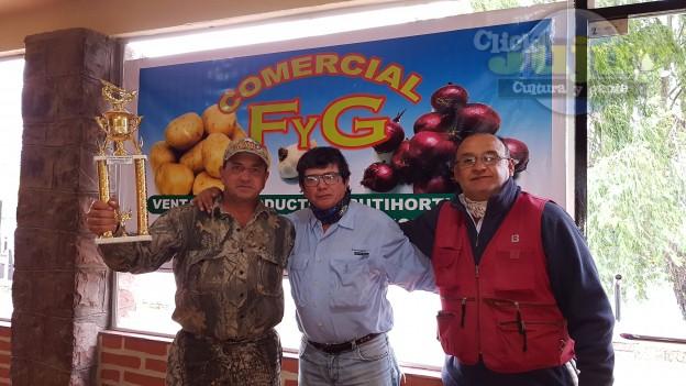 5ta fecha del torneo anual del Club de Pescadores la Ciénaga Copa F y G Comercial 5