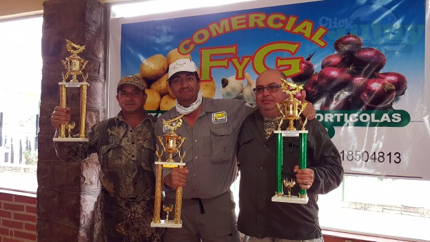 5ta fecha del torneo anual del Club de Pescadores la Ciénaga Copa F y G Comercial
