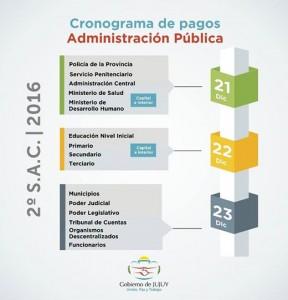 Cronograma de pagos del aguinaldo click jujuy for Cronograma de pagos ministerio del interior