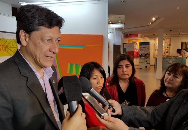 Aldana dió detalles del programa junto a autoridades Nacionales y Provinciales