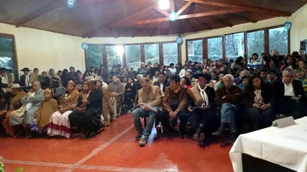 Apertura de sesiones en la comuna de Yala (2)