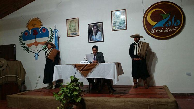 Apertura de sesiones en la comuna de Yala (3)