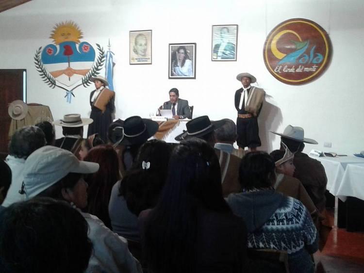 Apertura de sesiones en la comuna de Yala