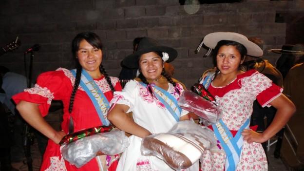 Ayelen Quispe cuarta Paisana Regional