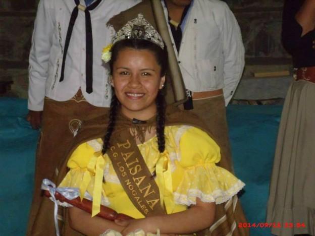 Barbara Humacata – Paisana del Centro Gaucho Los Nogales