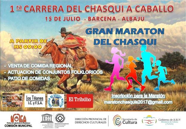 CARRERA DE CHASQUI A CABALLO Y GRAN MARATÓN DEL CHASQUI