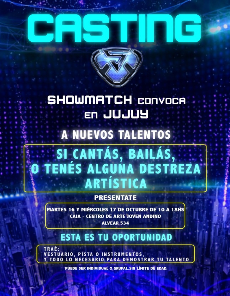 CASTING DE SHOWMATCH