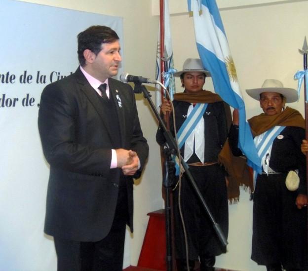CONCEJALES RINDIERON HOMENAJE AL GAUCHO JUJEÑO