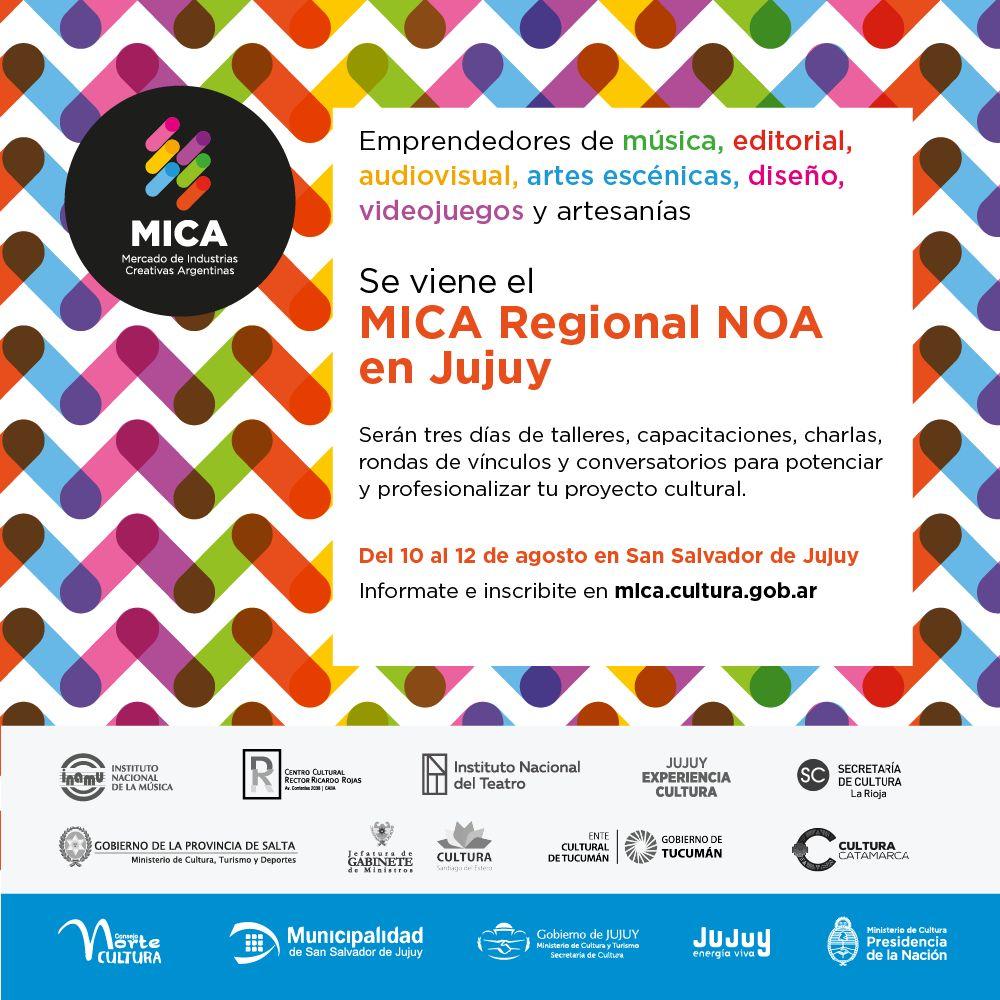 """CONVOCAN A PARTICIPAR DEL """"MICA REGIONAL NOA"""""""
