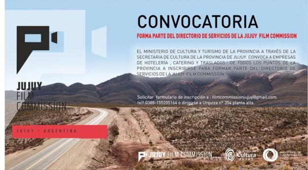 CONVOCATORIA PARA CONFORMAR EL DIRECTORIO DE LA PROVINCIA DE LA JUJUY FILM COMISSION
