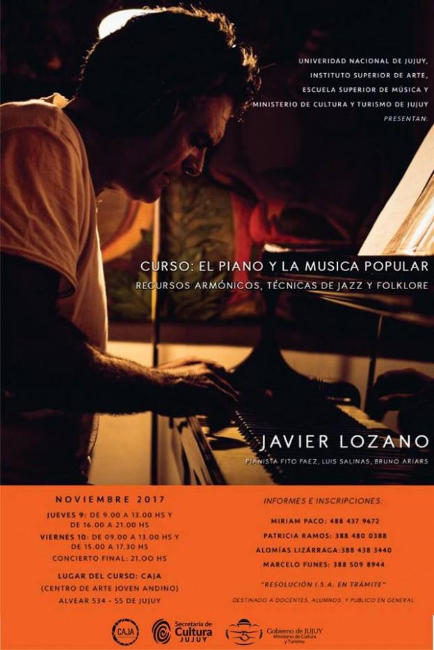 """CURSO """"EL PIANO Y LA MÚSICA POPULAR"""""""