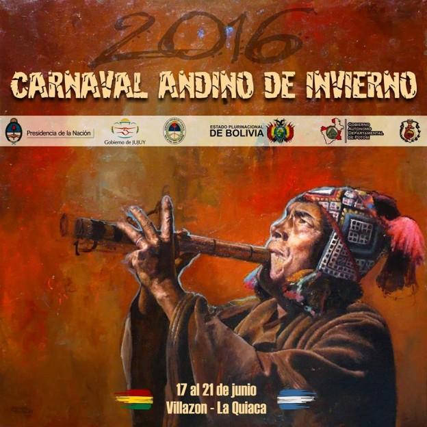 Carnaval Andino de Invierno del 17 al 21 de Junio
