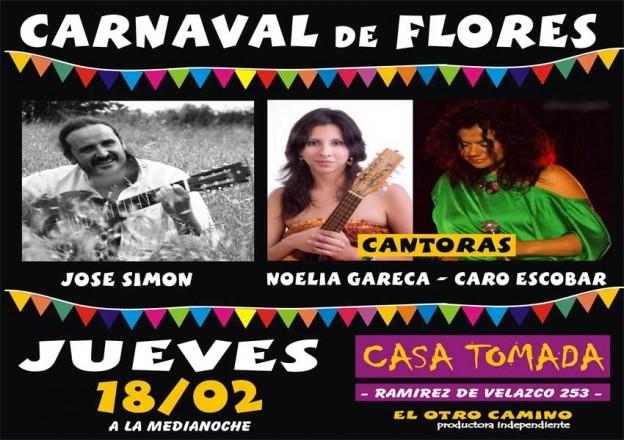 Carnaval de Flores – Afiche