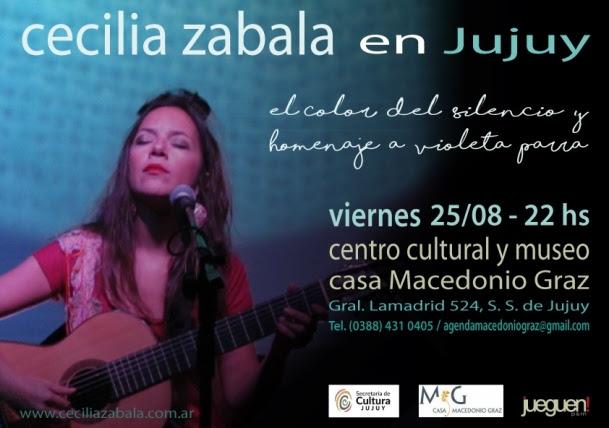 Cecilia Zabala en Jujuy